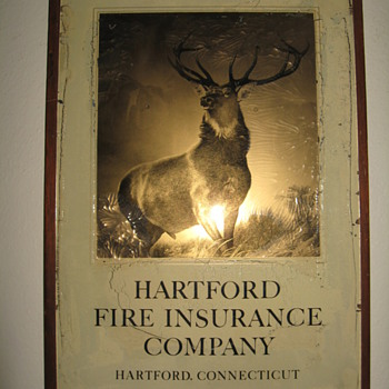OLD HARTFORD FIRE INSURANCE  - Advertising