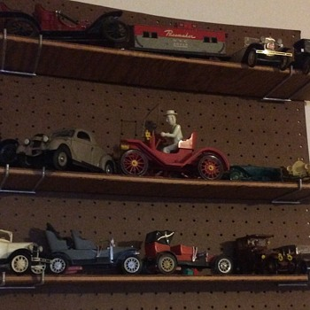 Few more vintage car toy models