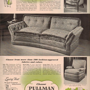 1950 Pullman Furniture Advertisement - Advertising