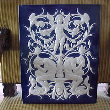 PICKMAN Yca CHINA OPACA SEVILLA Architectural Tile - Art Pottery