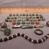 40 PIECE JADE NECKLACE JADE (FROM THE LEESMAN COLLECTION ? PRE-COLUMBIA ERA ?) HELP!