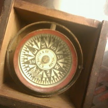 s.r baxter an co ship compass