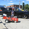 58 thistle pedal car wagon rat rod, now electric