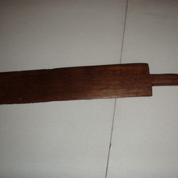 Flax Scutcher (scutching tool) - Tools and Hardware