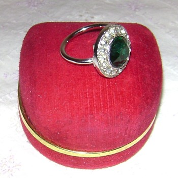 Sarah Coventry Ring - Irish Eyes - Costume Jewelry