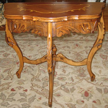 Small Antique Table - Furniture