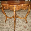 Small Vintage Carved Table