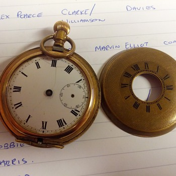 Help required to identify   - Pocket Watches