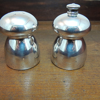 Sterling Salt and Pepper Set - Sterling Silver