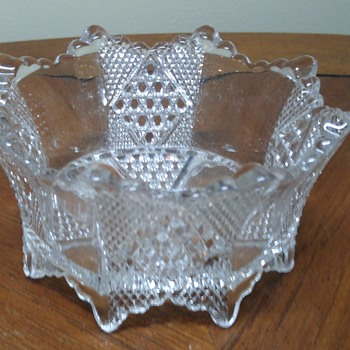 Octagon shaped dish