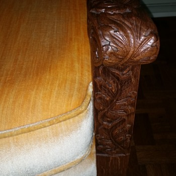 Oak Carved Chair