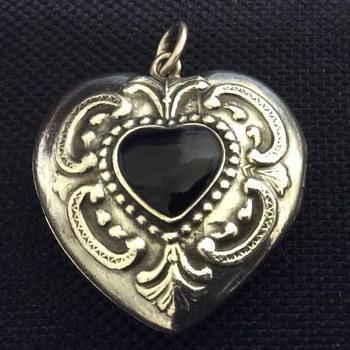 Old silver locket - Fine Jewelry