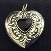 Old silver locket