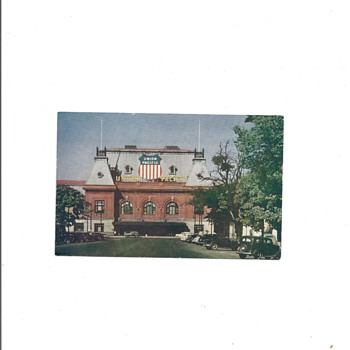 UNION PACIFIC RAIL ROAD DEPOT, SALT LAKE CITY UTAH - Postcards