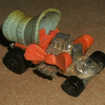 Mattel Toy Car, Hot Rod Bonnet