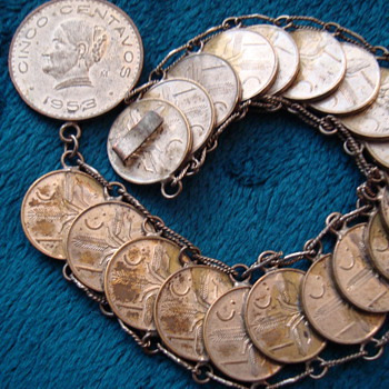 Neat Bracelet - World Coins