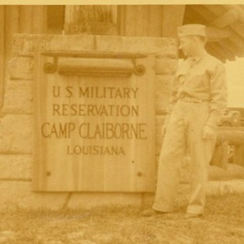 Camp Claiborne Main Gate Photo
