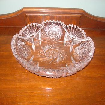 Lead Crystal Bowl - Glassware