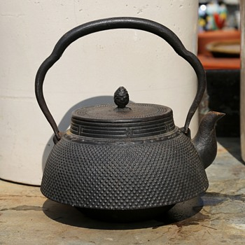 Japanese Iron Teapot - Asian