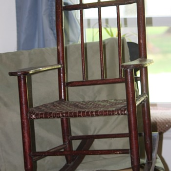 Auction find- Child's Rocker