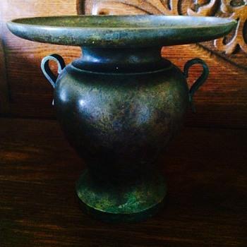 Vintage Bronze Vase