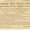 Bunker Hill Drag Strip 1961