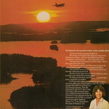 1978 National Airlines Advertisement