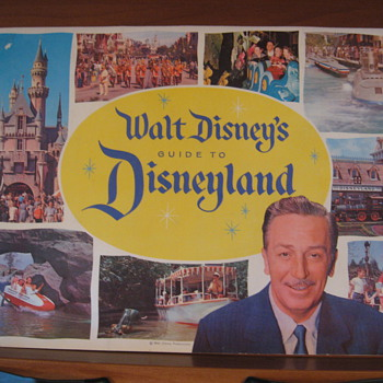 Walt Disney Guide to Disneyland- 1960 - Advertising