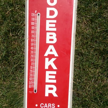 Studebaker thermometer