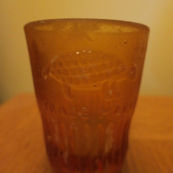 Shot glass from shipwreck