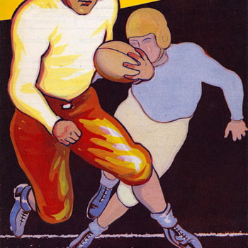 Some Vintage Football Programs - Football
