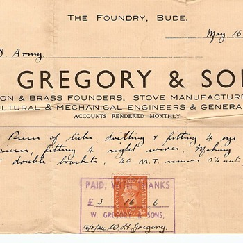U. S. Army Receipt For Goods Dated May 16, 1944