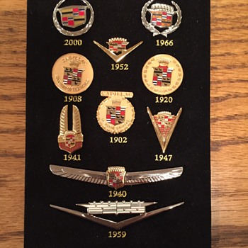 Cadillac Centennial Pin Set  - Medals Pins and Badges