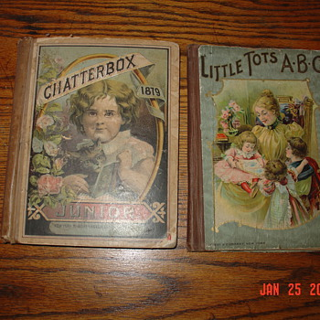 Victorian Era...1879 Chatterbox Junior &amp; Little Tots ABC - Victorian Era