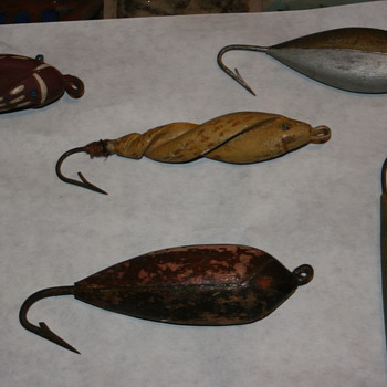 Big Game Folk Art Lures - Folk Art