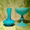 Blue glass stuff