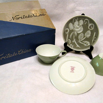 Noritake Sonata Cup & Saucer Set - China and Dinnerware