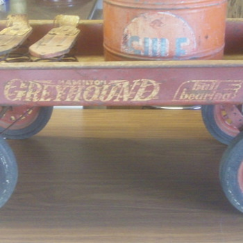 Old Hamilton Greyhound Wagon 