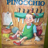 Pinocchio promotional giant color book