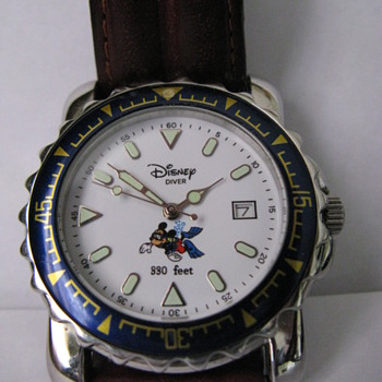 Can anyone tell me anything about this Mickey Mouse watch - Wristwatches