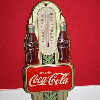 coca cola 1941 thermometer