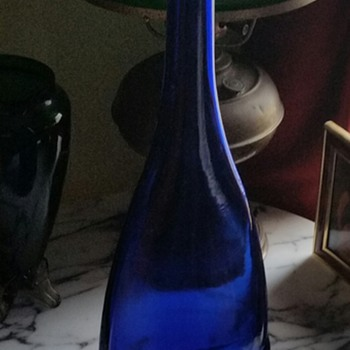 Very BIG Blue bottle