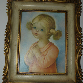 Vintage Children Framed Prints