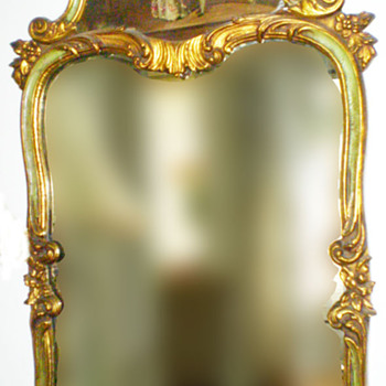 Very Antique Mirror - Furniture