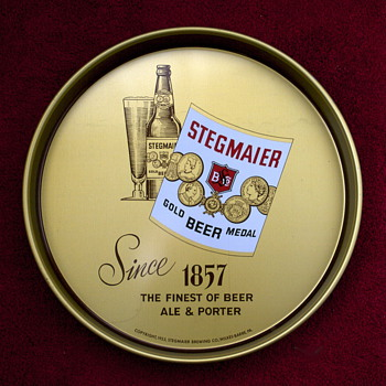 Four Stegmaier Beer Items - Breweriana