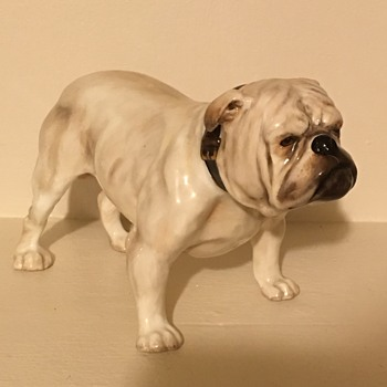 Royal doulton english bulldog  - Animals