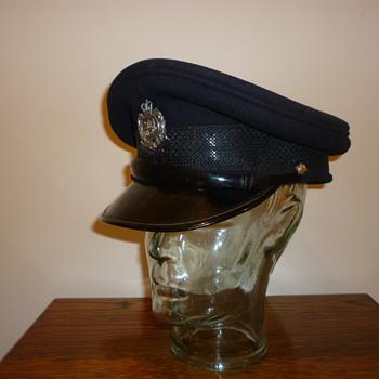 Rare Hong Kong Police Inspectors cap.