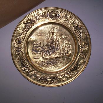 Brass Plate # 2