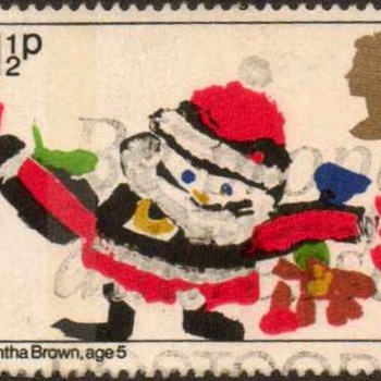 "1981 - Britain ""Christmas"" Postage Stamps - Stamps"