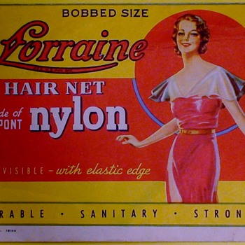 Lorraine Hair Net Packages With Nets Enclosed